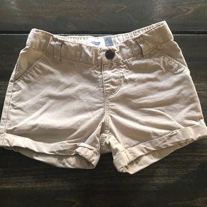 Old Navy Toddler Girls Khaki Shorts